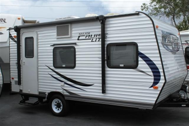 Used 2015 Forest River SALEM CRUISE LITE 185RB Travel Trailer For Sale