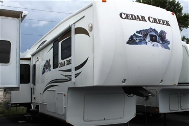Used 2009 Forest River Cedar Creek 36RE Fifth Wheel For Sale