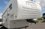 Used 2008 Forest River Flagstaff 8524RLS Fifth Wheel For Sale