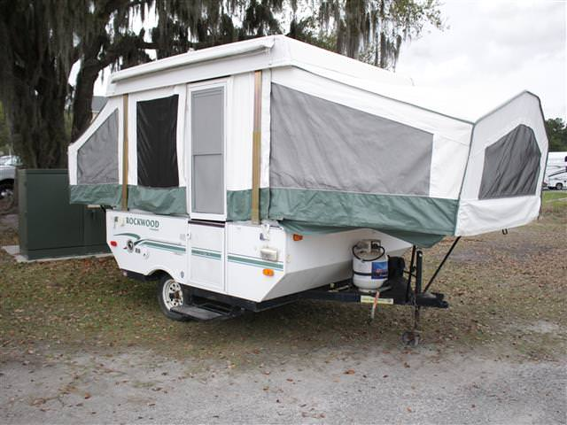 Used 2005 Rockwood Rv Rockwood 1640LTD Pop Up For Sale