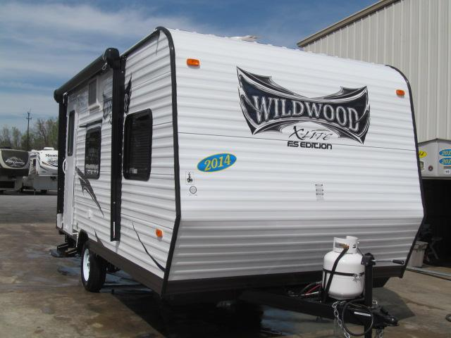 New 2014 Forest River Wildwood 185RBXL Travel Trailer For Sale