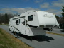 Used 2008 Keystone Cougar SRX Fifth Wheel Toyhauler For Sale