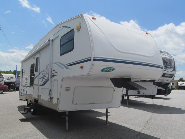 Used 2003 Keystone Cougar 278EFS Fifth Wheel For Sale