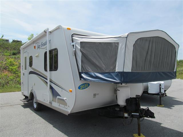 Used 2010 Jayco Jay Feather 172 Hybrid Travel Trailer For Sale