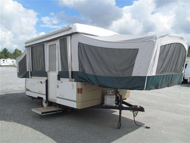 Used 2000 Coleman Santa Fe 10FT Pop Up For Sale