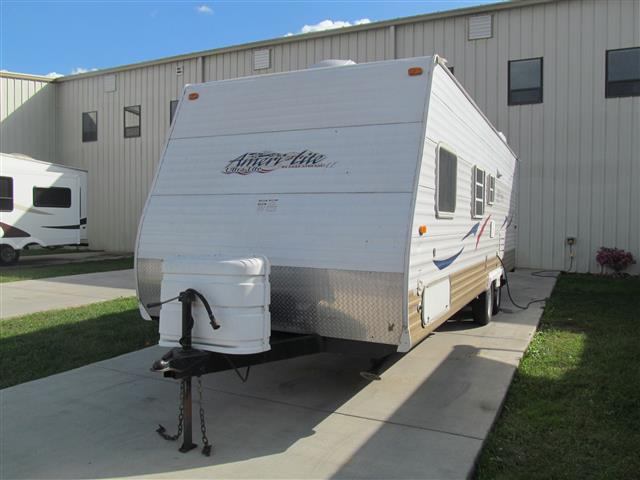 Used 2008 Gulfstream Ameri-lite M-25BH DL Travel Trailer For Sale
