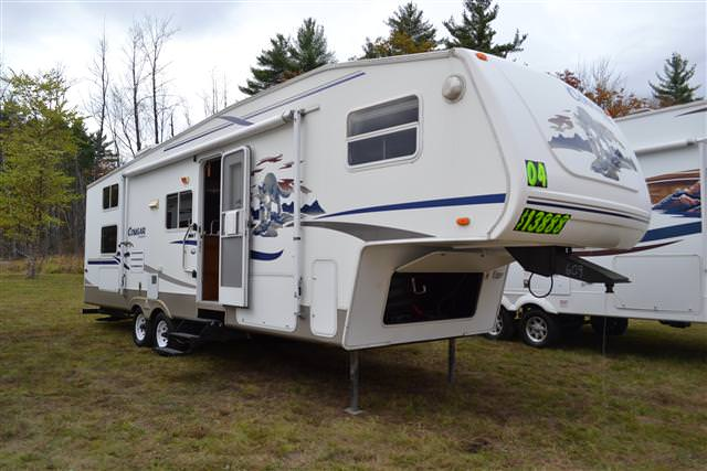 Buy a Used Keystone Cougar in Center Conway, New Hampshire.