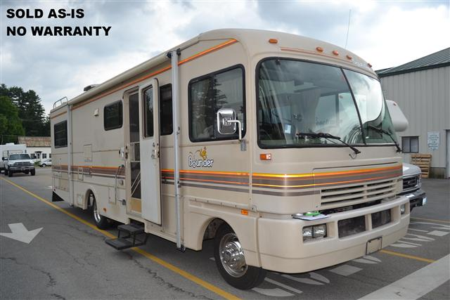 Buy a Used Fleetwood Bounder in Center Conway, NH.