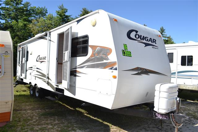 Buy a Used Keystone Cougar in Center Conway, NH.