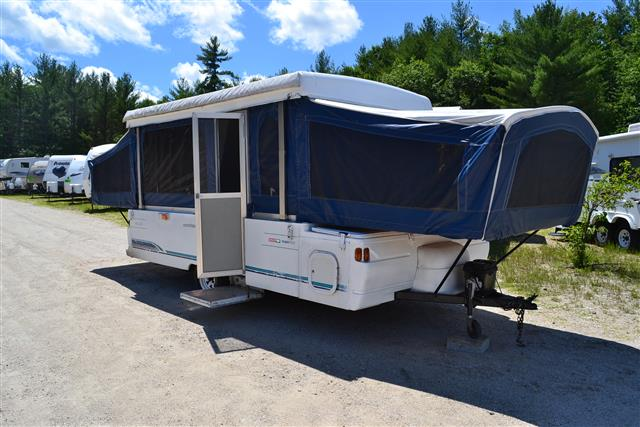 Used 1996 Coleman Quest 8 Pop Up For Sale
