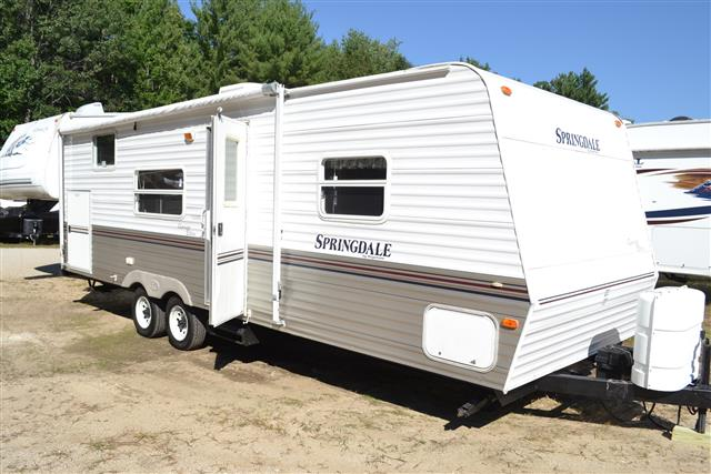 Used 2006 Keystone Clearwater 260 Travel Trailer For Sale