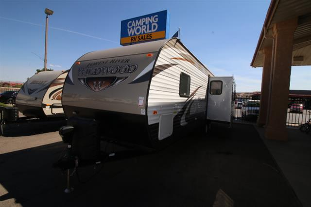 New 2015 Forest River Wildwood 27RLSS Travel Trailer For Sale