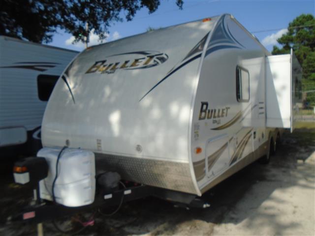 Used 2012 Keystone Bullet 278RLS Travel Trailer For Sale