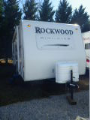 Used 2009 Forest River Rockwood 2502 Travel Trailer For Sale