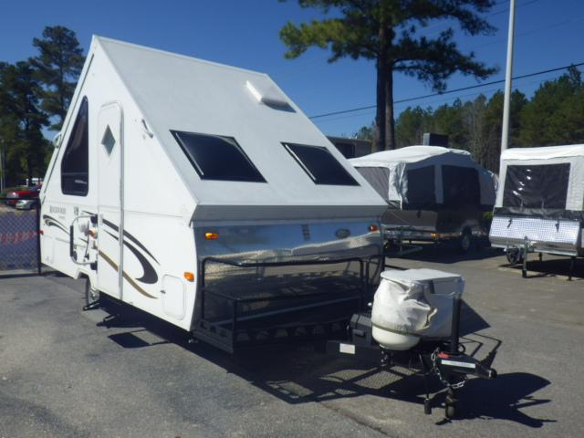 Used 2012 Forest River ROCKWOOD HARDSIDE 122ABH Pop Up For Sale