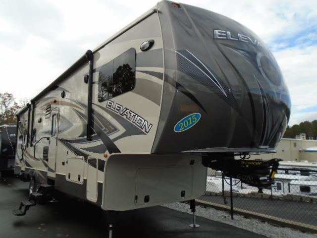 New 2015 Crossroads Elevation Fifth Wheel Toy Haulers For