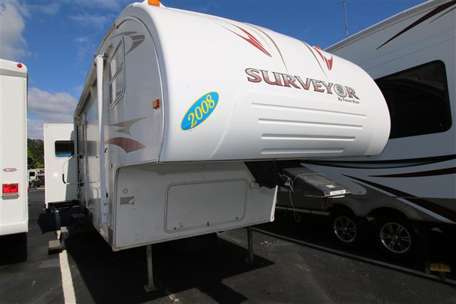 Used 2008 Forest River Surveyor 285RL - N/T Travel Trailer For Sale
