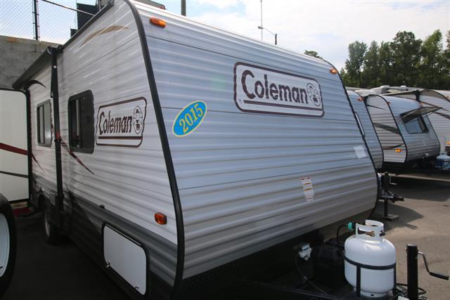 Used 2015 Dutchmen Coleman CTS16FB Travel Trailer For Sale