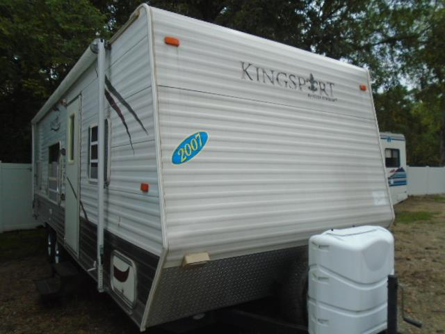 Used 2007 Gulfstream Kingsport 26BH Travel Trailer For Sale