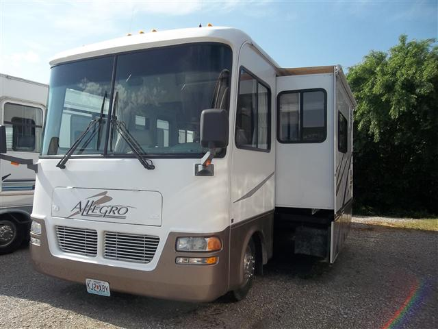 Buy a Used Tiffin Allegro Bay in Lowell, AR.