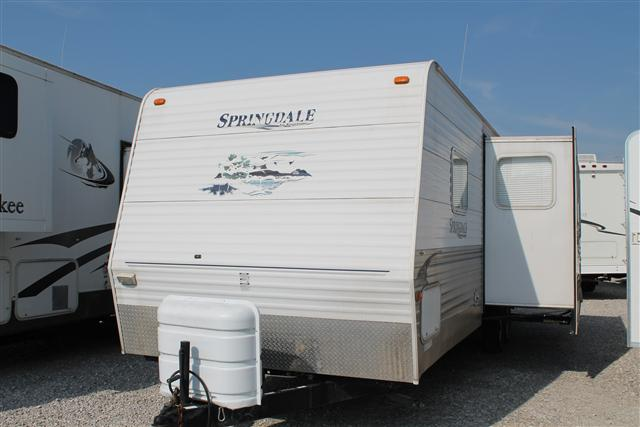 Used 2006 Keystone Springdale 296 Travel Trailer For Sale