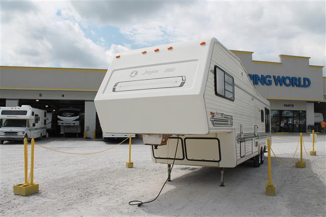 Buy a Used Jayco Designer in Lowell, AR.