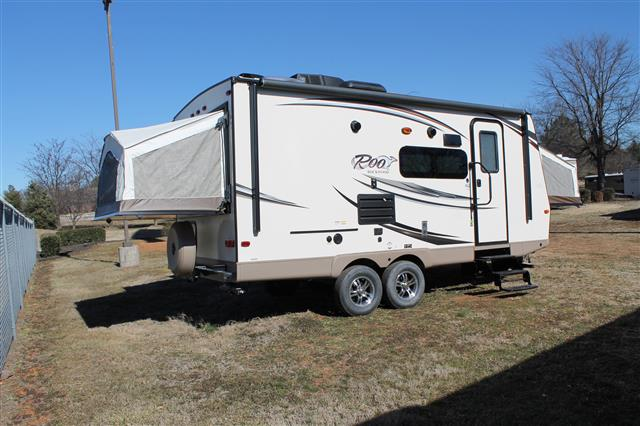 New 2015 Forest River Rockwood Roo 21SS Hybrid Travel Trailer For Sale