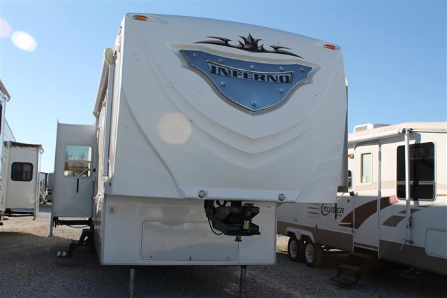 Used 2009 K-Z Inferno 4012SL Fifth Wheel Toyhauler For Sale