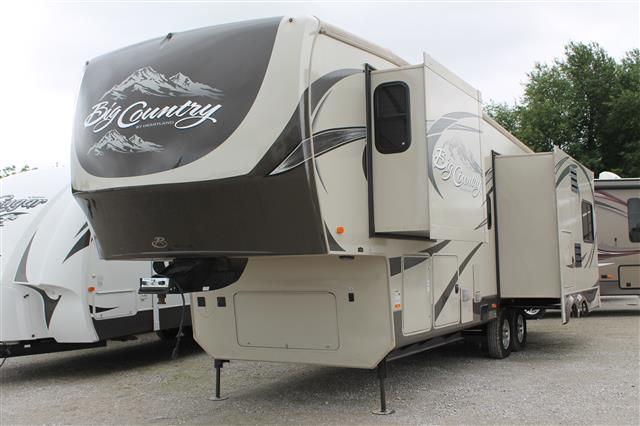 Used 2012 Heartland Big Country 3250TS Fifth Wheel For Sale