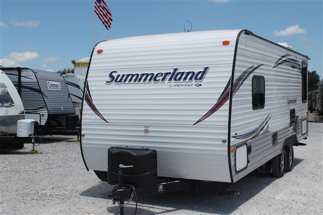 Used 2015 Keystone Summerland 2020QB Travel Trailer For Sale