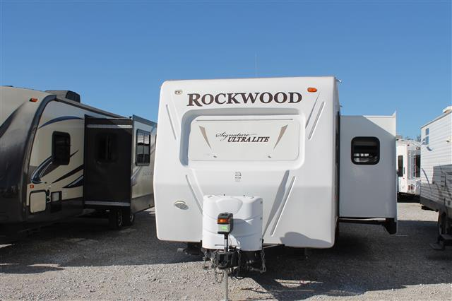 Used 2011 Forest River Rockwood 8312SS Travel Trailer For Sale
