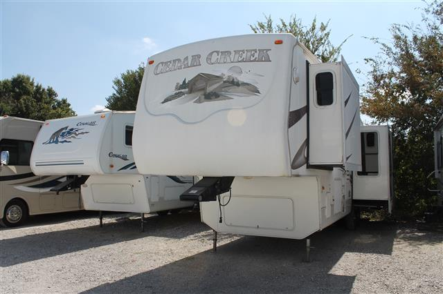 Used 2006 Forest River Cedar Creek 37RDQS Fifth Wheel For Sale