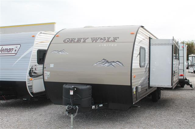 Used 2016 Forest River Grey Wolf 26DBH Travel Trailer For Sale