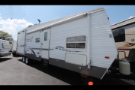 Used 2006 Forest River Wildwood Le 30FBSRV Travel Trailer Toyhauler For Sale