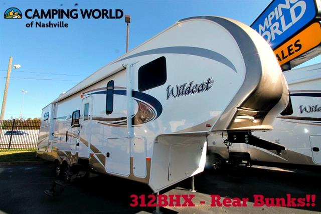New 2015 Forest River Wildcat 312BHX Fifth Wheel For Sale
