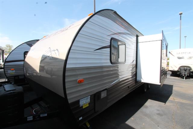 New 2016 Forest River Grey Wolf 23DBH Travel Trailer For Sale