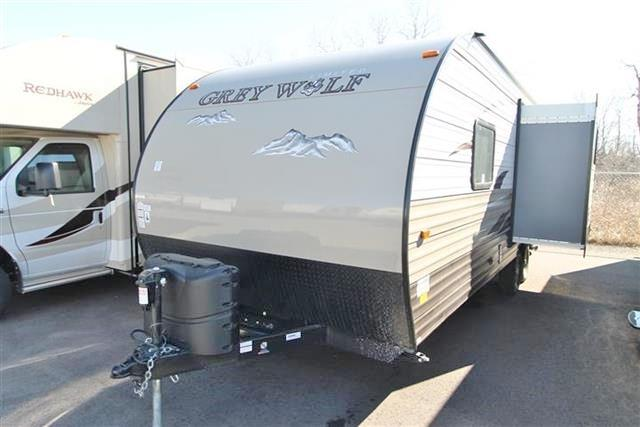 Used 2015 Forest River Grey Wolf 23BD Travel Trailer For Sale