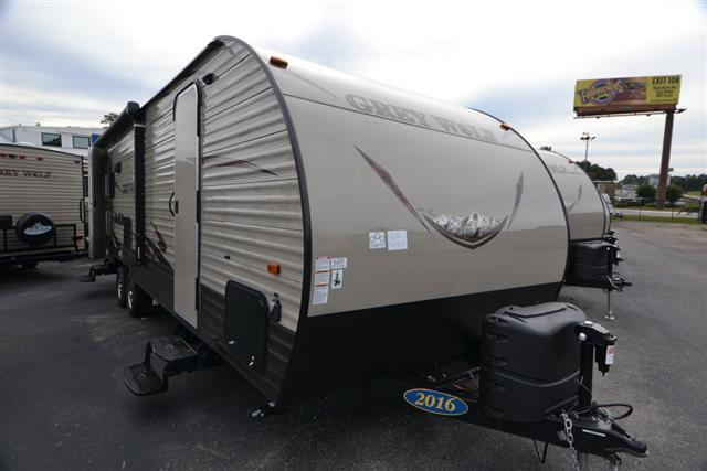 Used 2016 Cherokee Grey Wolf 26RL Travel Trailer For Sale