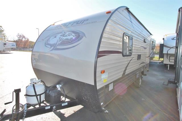Used 2016 Forest River WOLF PUP 16FQ Travel Trailer For Sale