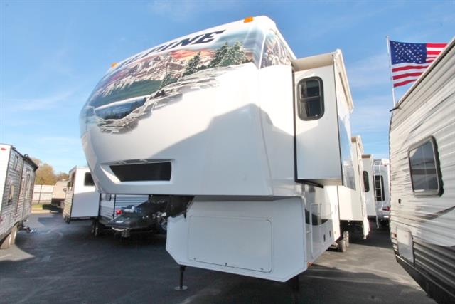 Used 2012 Keystone Alpine 3500RE Fifth Wheel For Sale