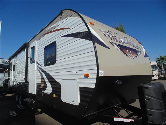 New 2016 Forest River Wildwood 27RLSS Travel Trailer For Sale