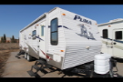Used 2009 Palomino Puma 27 Travel Trailer For Sale