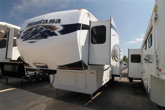 Used 2011 Keystone Montana 3580 Fifth Wheel For Sale