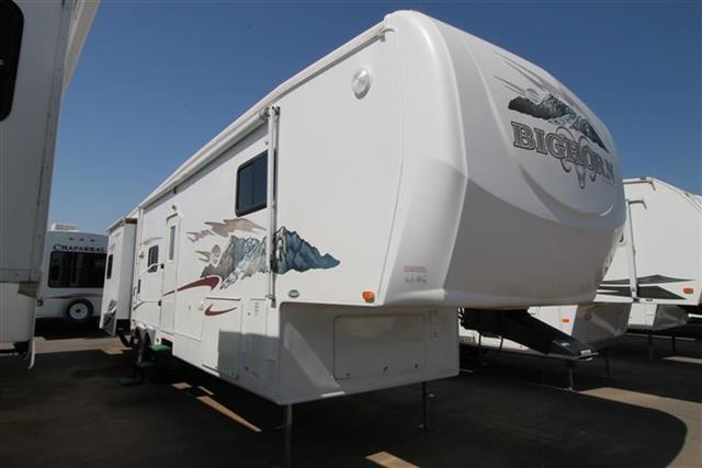Used 2007 Heartland Bighorn 3655 Fifth Wheel For Sale