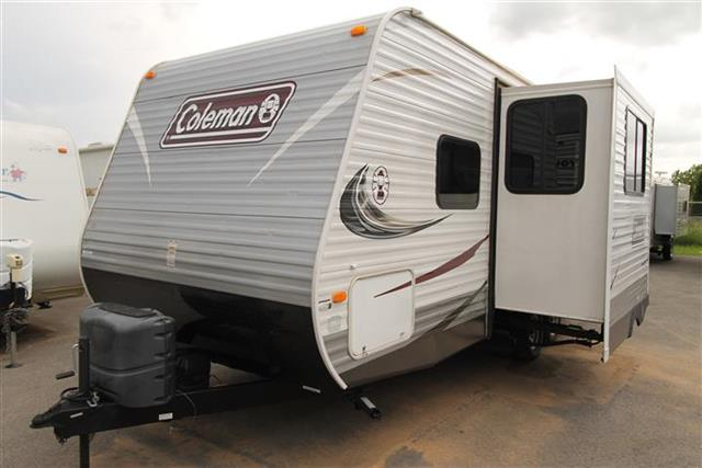 Used 2014 Thor Coleman 191QB Travel Trailer For Sale