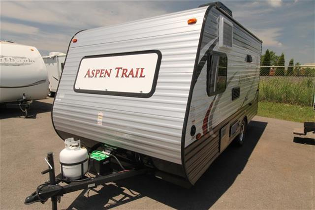 Used 2015 Keystone ASPEN TRAIL 1500BH Travel Trailer For Sale
