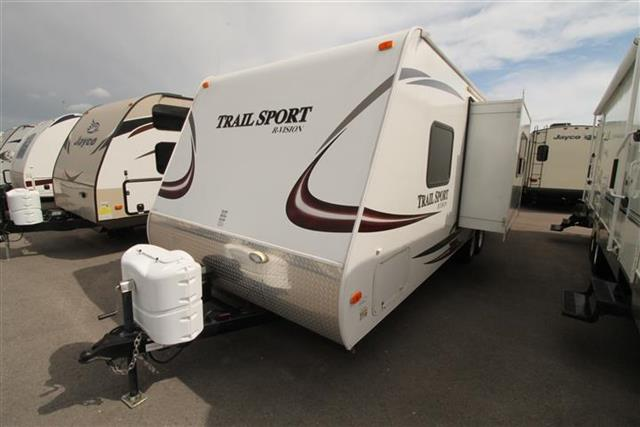 Used 2012 Rvision Trail Sport 25S Travel Trailer For Sale