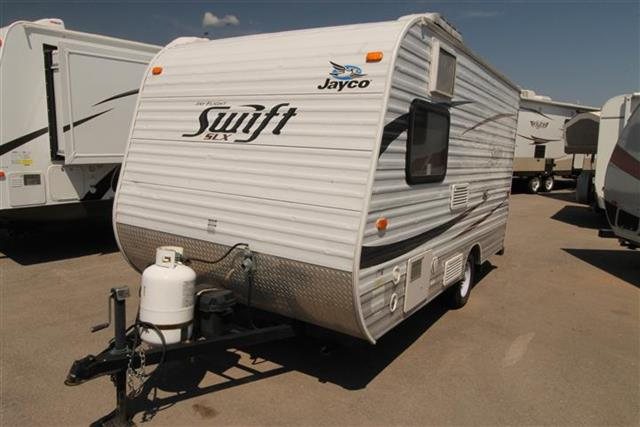 Used 2012 Jayco SWIFT 14RB Travel Trailer For Sale