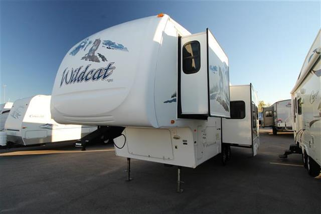 Used 2008 Forest River Wildcat 29RL Fifth Wheel For Sale
