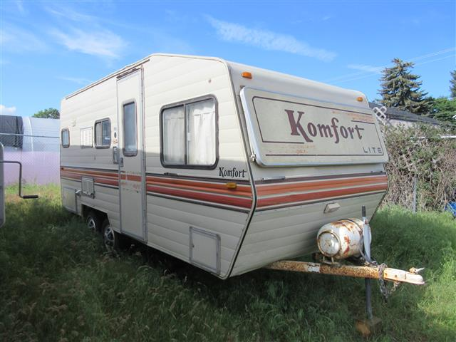 Used 1981 Komfort Komfort M19T Travel Trailer For Sale